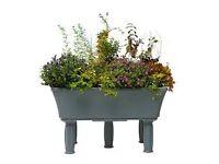 Garden4me - Raised Garden Bed Mid Granite for Balcony Patio Gardens