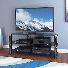 Tempered glass table for 36' to 60' TV