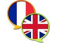French - English language swap