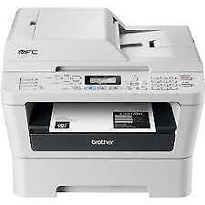 Brother MFC7360N Monochrome Laser Printer with Scanner, Copier & Fax and built in Networking