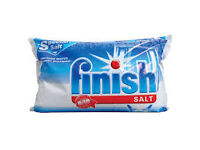 Finish Dishwasher Salt And Water Softener 2Kg Ref (Discount pack of 10)