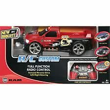 NEW : New Bright Remote Control Dodge Ram with Lights