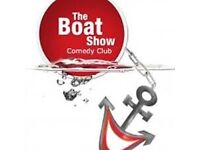 4 x tickets for the Boat Show Comedy Club Friday (23/9/16) 8pm (only £2 each!)