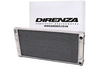 BRAND NEW DIRENZA, LIGHTWEIGHT ALUMINIUM ALLOY RADIATOR FOR ALL MK 4 VW GOLFS'