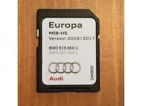 Audi A4 Navigation SD Card 2016 Bargain - Offers Accepted