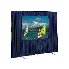 Used 9x9 Fastfold Screen and Dress Kit with Front & Rear Surface Kitchener / Waterloo Kitchener Area image 1