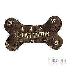 Chewy Vuiton  Dog Toy Bone