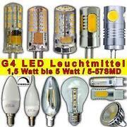 LED Leuchtmittel 12V Stiftsockel
