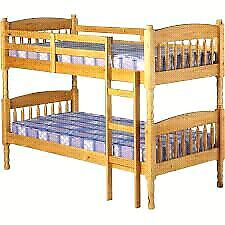 Solid wood bunk beds Kingston Kingston Area image 1
