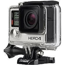 GoPro Hero 4 Silver, mint condition, still boxed, with accessories and memory card