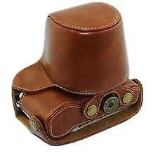New Olympus PEN E-PL7 PU Leather Camera Case