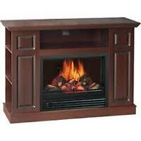 QUALITY CRAFT MM220-46FDW ELECTRIC FIREPLACE TVCENTER.CA SALE