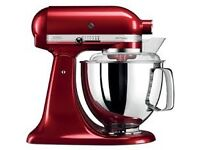 BRAND NEW KitchenAid 4.8L Stand Mixer - Candy Apple Red