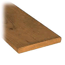 6' Sienna brown fence boards for sale