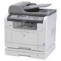 Ricoh SP3200A/SF COPIER  B/W copy/fax/scan/printing PRINTER