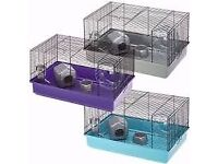 Blue Hamster cage and Coconut sleeping pod