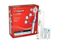 Colgate Omron Pro A1500 Electric Toothbrush almost brand new