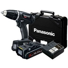 Panasonic EY74A1PN Black Edition-SET mit 2 Akku EY9L51B, Ladesystem,inkl. Koffer
