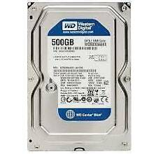 Selling a Western Digital 500Gb SATA Desktop hard drive with 16Mb Parramatta Parramatta Area Preview