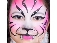 Face painting for kids on birthday parties or any occasion.