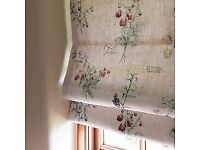 Curtain making. Homesew Soft Furnishings. Hand made curtains and roman blinds.