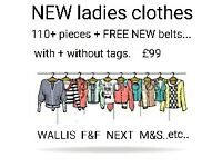 New Ladies clothes job lot NEW with +without tags