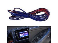 Blue 5Yard Car Flexible DIY Interior ExteriorUniversal Point Moulding