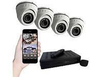 4 CHANNEL CCTV CAMERA DOME SYSTEM