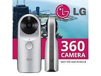 LG 360 Camera and VR Glasses for sale, both boxed and as new, fabulous results - REDUCED