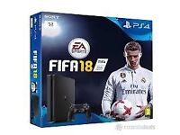 Playstation 4 - With Fifa 18