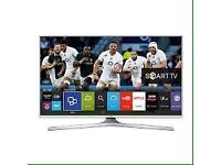 """48"""" White Smart LED TV with Freeview Series 5 Full HD 1080p Warranty and Delivered"""