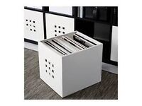 Wanted Ikea Kallax or Expedit White and Black Lekman Plastic Storage Boxes Bins Loc Essex SS6