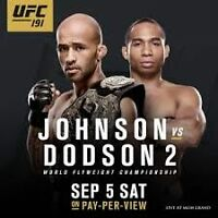 Gilligan's Free Cover UFC 191  SEPTEMBER 5th