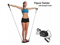Body Sculpture Figure Twister With Detachable Bungee Cords
