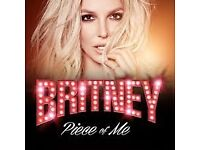 2 x Britney Spears tickets - Sun 26th August - London O2 (will consider offers!)