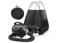 spray tan kit and tent comes with carry case