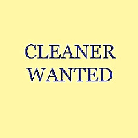 Part-time Residential cleaner required