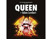 QUEEN + ADAM LAMBERT TICKETS - Birmingham Saturday 16th December 2017 Birmingham Arena 16/12/17