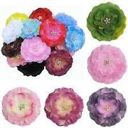 Flower Hair Clips Lot