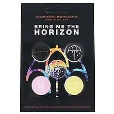 Bring Me The Horizon Badges (Pack Of 5)