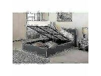FUSION STORAGE BED FRAME IN SINGLE/DOUBLE SIZE WITH MATTRESS