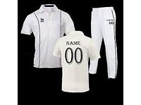 Costomised Cricket clothing , Sublimation, Non sublimation , coloured and white.