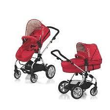 I'coo  Stroller-bassinet 3 in1+ free car seat.German-engineering
