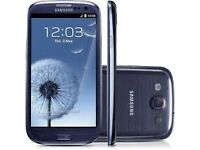 Samsung Galaxy S3-16GB Blue (Unlocked) in good condition