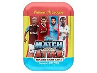 Match Attax trading cards 2017/18