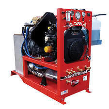 Carpet Truck Mount  27 hp (NEW) Includes Hoses and Wand