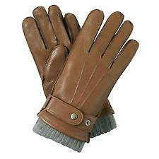 Black leather driving gloves - Mens Leather Gloves Ebay