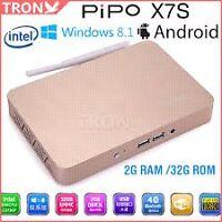 Brand New GOLD PIPO X7S 2GB RAM 32GB ROM Dual OS