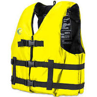 Two Universal Life Jackets
