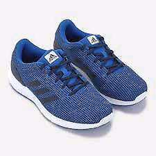 Size 12 Adidas blue running shoes